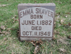 Emma Loretta <i>James</i> Shaver