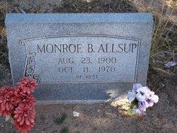 Monroe B Allsup