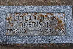 Edith <i>Bullen</i> Robinson