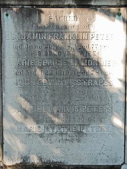 Marie Felicie <i>LeMonnier</i> Peters