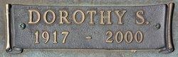 Dorothy S Bradley
