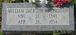William Jackson McSpadden