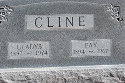 Gladys <i>Durham</i> Cline