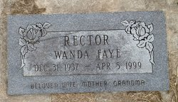 Wanda Faye Rector