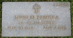 John M Zamiska