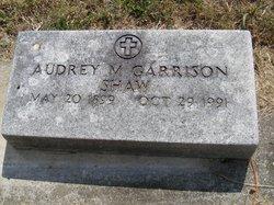 Audrey M <i>Garrison</i> Shaw