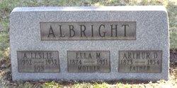 Ella Conley <i>Miller</i> Albright