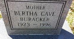 Bertha Virginia <i>Cave</i> Buracker