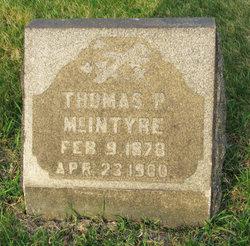 Thomas P McIntyre