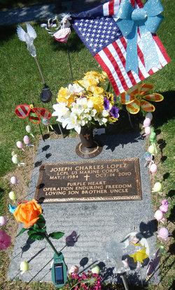 LCpl Joseph C. Lopez