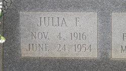 Mrs Julia Frances <i>Griffin</i> Brown