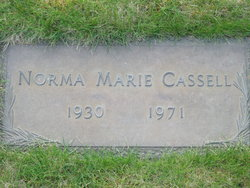 Norma Marie <i>Christiansen</i> Cassell