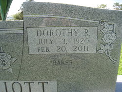 Dorothy Mae <i>Reynolds</i> Elliott Baker