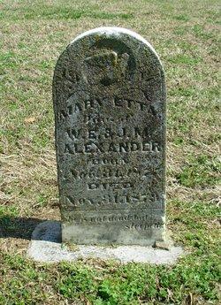 Mary Etta Alexander