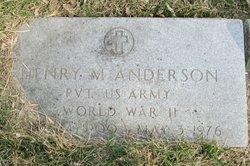 Henry Meldon Anderson