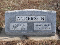 Grace Evelyn <i>Chance</i> Anderson