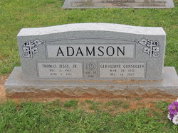 Geraldine Gerry <i>Gonsoulin</i> Adamson