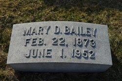 Mary A. <i>Daugherty</i> Bailey