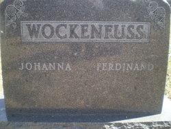 Johanna Dorathea Christina <i>Schmidt</i> Wockenfuss