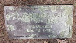 Capt William Henry Benjamin