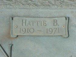 Hattie E <i>Talkington</i> Braden