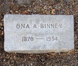 Ona Alice <i>Bowles</i> Binney