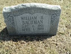 William H Bachman