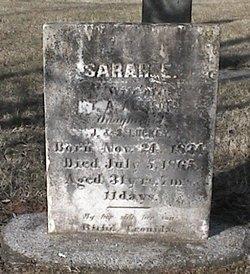 Sarah Elizabeth <i>Luckey</i> Allison
