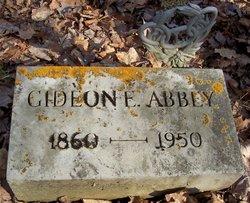 Gideon E Abbey