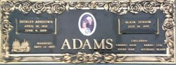 Shirley <i>Ashdown</i> Adams