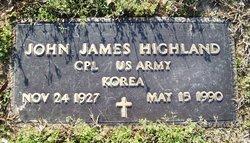 Corp John J. Highland