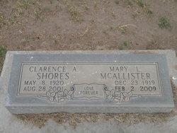 Clarence A Shores