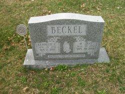 Mary Jane <i>Foster</i> Beckel