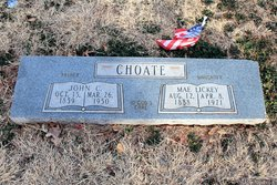 Mae <i>Choate</i> Lickey