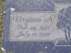 Virginia Ginnie R Bell