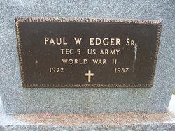 Paul W. Edger, Sr