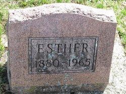 Esther J <i>Johnson</i> Burrier