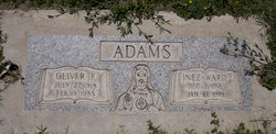 Inez W. <i>Ward</i> Adams