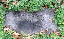 Isora F Robinson
