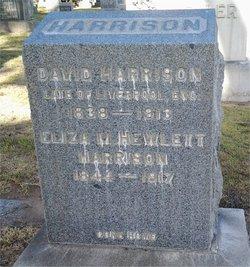 Eliza M. <i>Hewlett</i> Harrison