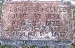 Jonnie Doris <i>Lowe</i> Holmes