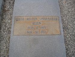 Clyde Melton <i>Sinquefield</i> Allen