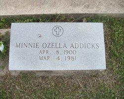 Minnie Ozella Addicks