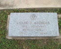 Pfc Louis John Addicks