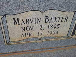 Marvin Baxter English