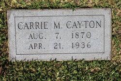 Caroline M Carrie <i>Hilgardner</i> Cayton