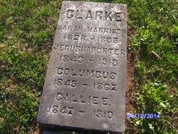 Columbus Clarke