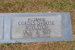 Cordes DuBose Boylston