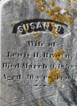 Susan B <i>Howland</i> Brown