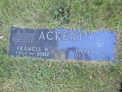 Helen M <i>Haskell</i> Ackert